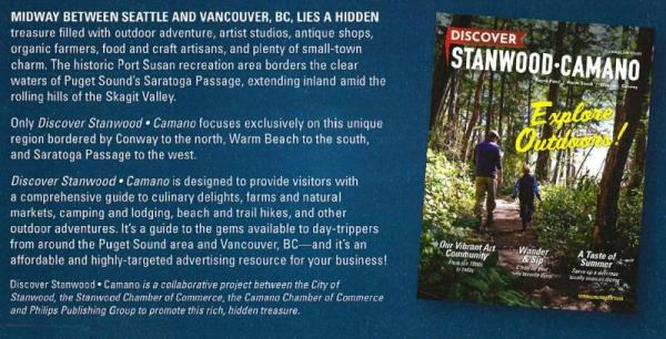 Discover Stanwood Camano Magazine Ad